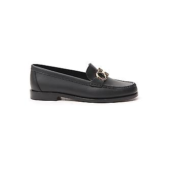 Salvatore Ferragamo 01n660728415 Femmes-apos;s Black Leather Loafers