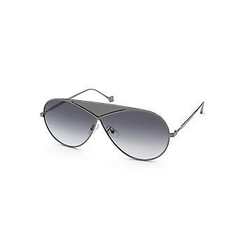 Loewe LW40010U 18B Silver/Smoke Gradient Sunglasses