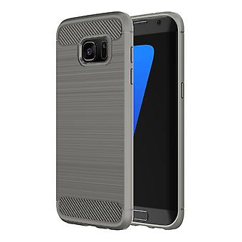 Stødsikker TPU-kasse til Samsung Galaxy S7 Edge, G935