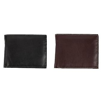 Eastern Counties Leather Mens Mark Trifold Wallet With Coin Pocket