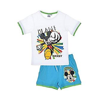 Disney mickey boys outfit set 2 pcs short and top t-shirt