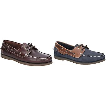 Hush Puppies Mens Henry Lace Up Boat Shoes