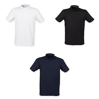 Skinnifit Mens Fashion Short Sleeve Polo Shirt