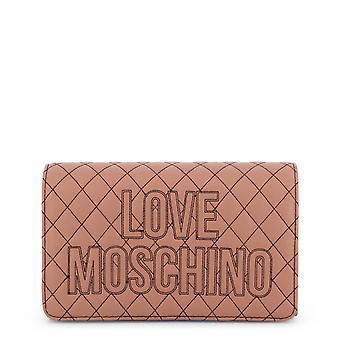 Amor Moschino Original Mujeres Otoño/Invierno Crossbody Bolsa - Color Rosa 38061