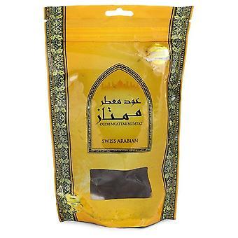 Swiss Arabian Oudh Muattar Mumtaz Bakhoor Incense (Unisex) By Swiss Arabian 250 grams Bakhoor Incense