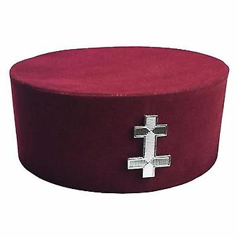 Masonic knight templar kt perceptor cap/hat
