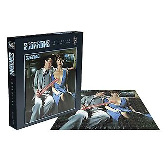 Scorpions Jigsaw Puzzle Lovedrive Album Cover new Official 500 Piece