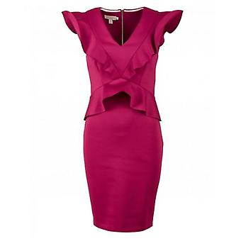 Ted Baker Alair frill Body con rochie