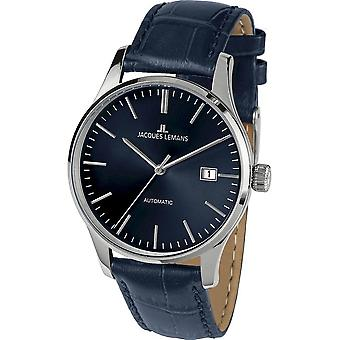 Jacques Lemans - Reloj de pulsera - Hombres - Londres - Clásico - 1-2073D