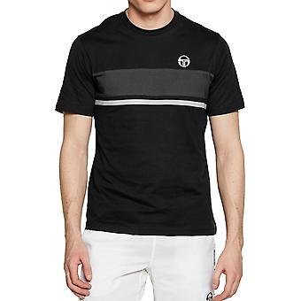 Sergio Tacchini Feluga T-Shirt Noir 36