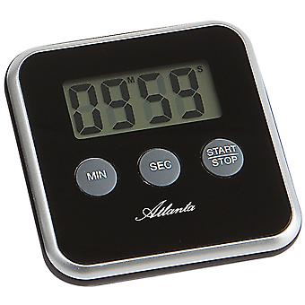 Atlanta 239/7 Short TimePiece Atlanta Digital Black com Magnet Kitchen Timer
