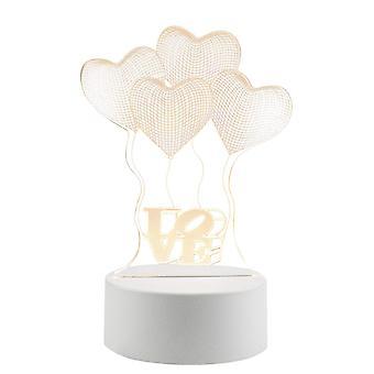 3D LED Lamp - Balloons