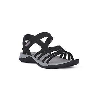 Teva Elzada 1101112BLK chaussures universelles pour femmes d'été
