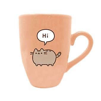 Pusheen zegt Hi Latte Mok