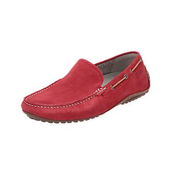 Sioux Slipper Callimo Men's Loafer Red Slip-Ons Business Shoes
