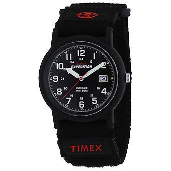 Timex ekspedisjon full bobilen svart ansikt klokken (T40011)