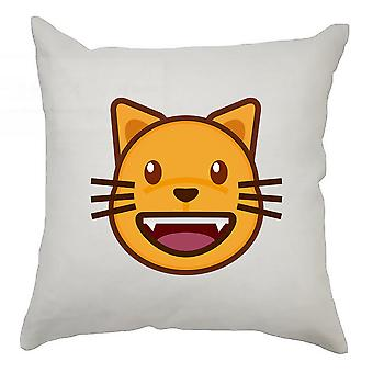 Emoji Cushion Cover 40cm x 40cm Cat 3
