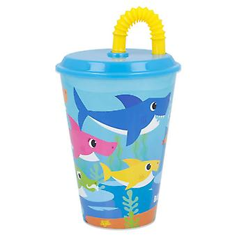 Baby Shark - Travel Mug with Straw