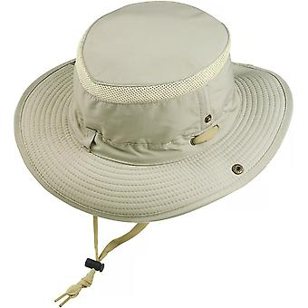 Glacier Glove UPF 50+ Sun Protection Outback Fishing Hat - Tan