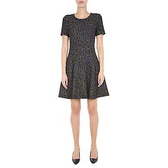 Boutique Moschino 040761551440 Women's Green Polyester Dress