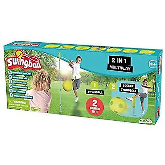 Mookie Toys Swingball 2 in 1 Swingball Football & Swingball Tennis
