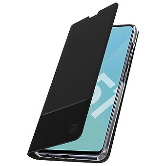 Protective Cover for Galaxy A51 Case Folio video support Muvit Black