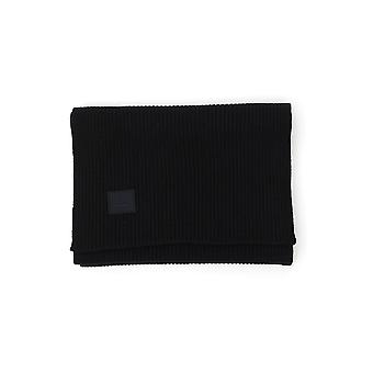 Acne Studios D4002black Women's Black Wool Sjaal