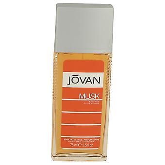 JOVAN MUSK by Jovan Body Spray 2.5 oz / 75 ml (Men)