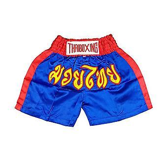 Muay Thai Boxing Short Trunks Satin