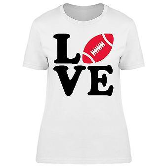 American Football Big Love Tee Women's -Image by Shutterstock