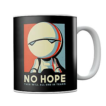 Hitchhikers Guide To The Galaxy Marvin The Robot No Hope Mug