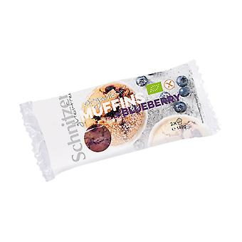 Gluten-free blueberry muffins 2 units