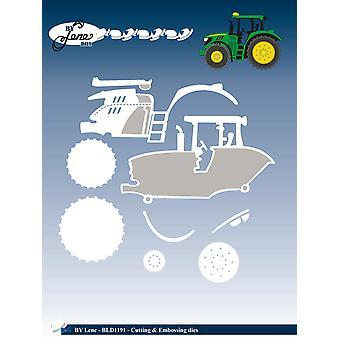 Door Lene Tractor Cutting & Embossing Sterft