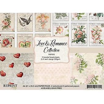 Reprint Love & Romance A4 Paper Pack