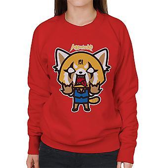 Aggretsuko Rage Women's Sweatshirt