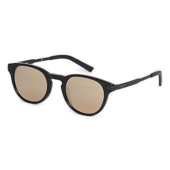 Ducati Unisex Acapulco Sunglasses Rounded Design Metal Frame Dark Tinted Lenses
