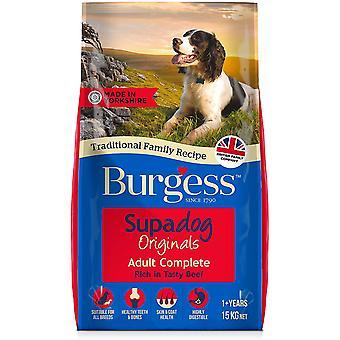 Burgess Supadog Boeuf adulte - 15kg