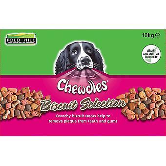 Sélection de biscuits Chewdles - 10kg