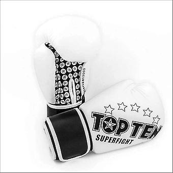 Top ten superfight boxing gloves white
