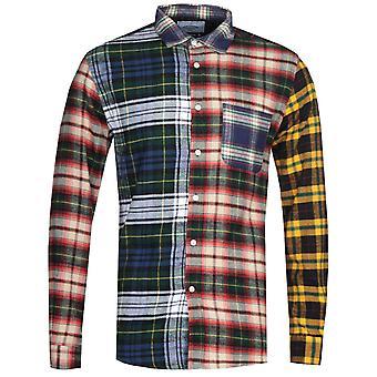 Chemise portugaise à taches de flanelle