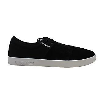 SUPRA Mens stapels II Canvas lage Top Lace Up skateboarden schoenen