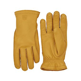 Hestra Gloves Frode Elk Leather Gloves (Natural Yellow)