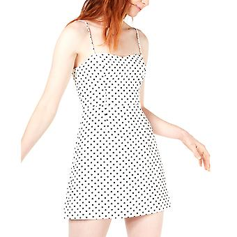 French Connection | Sweetheart Polka-Dot Mini Dress