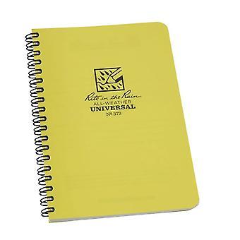 "Rite In The Rain Universal Notebook Side Spiral Bound (4 5/8"" x 7) - White/Yellow"