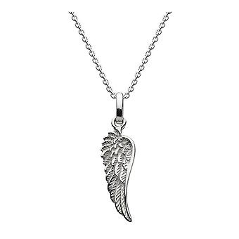 Dew Sterling Silver Small Wing Pendant 98113HP022