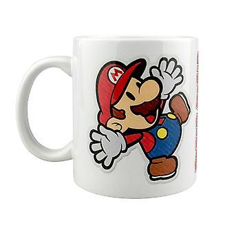 Papier Mario, Mug - Autocollant