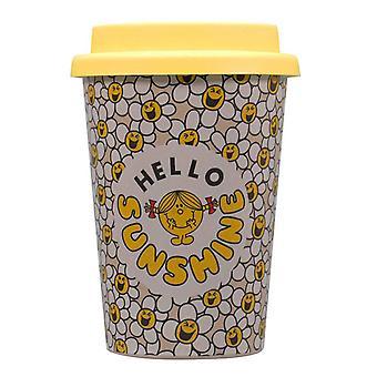 Little Miss Travel Mug Laughing Daisies Logo nieuwe officiële