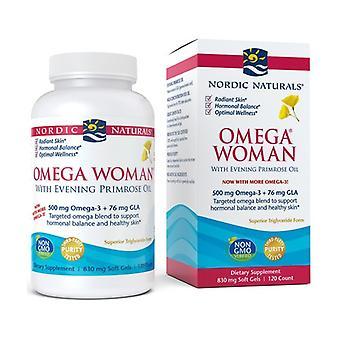 Omega Woman, 500mg 120 softgels