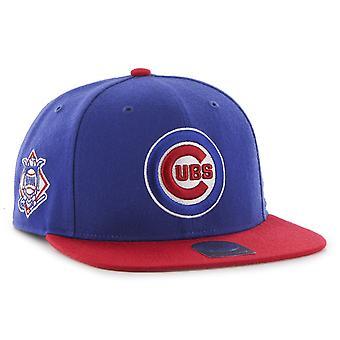 47 Brand Snapback Cap - SURE SHOT Chicago Cubs royal