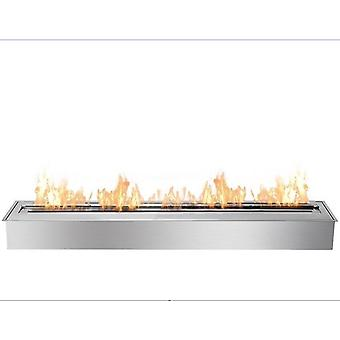 Inno Living Fire 24-inch Bio Fireplace, Fireplace Gel Fuel (silver Manual)
